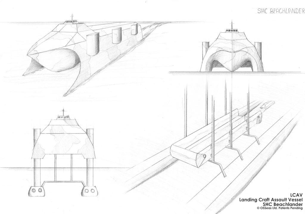 LCAV SHC Beachlander Concept Sketch